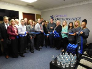 Gitelis Orthopedics Ribbon Cutting Ceremony